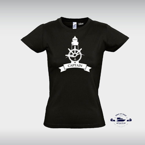 "Women Shirt ""Captain"""